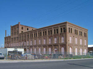 Old Sugar Beet Factory from 1906. Glendale, AZ