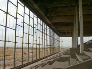 Exploring the Phoenix Trotting Park in Goodyear, AZ. Photo from 2005. The entire structure was demolished in September 2017.