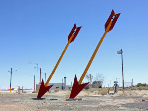 Twin Arrows, AZ. Photo from 2013.