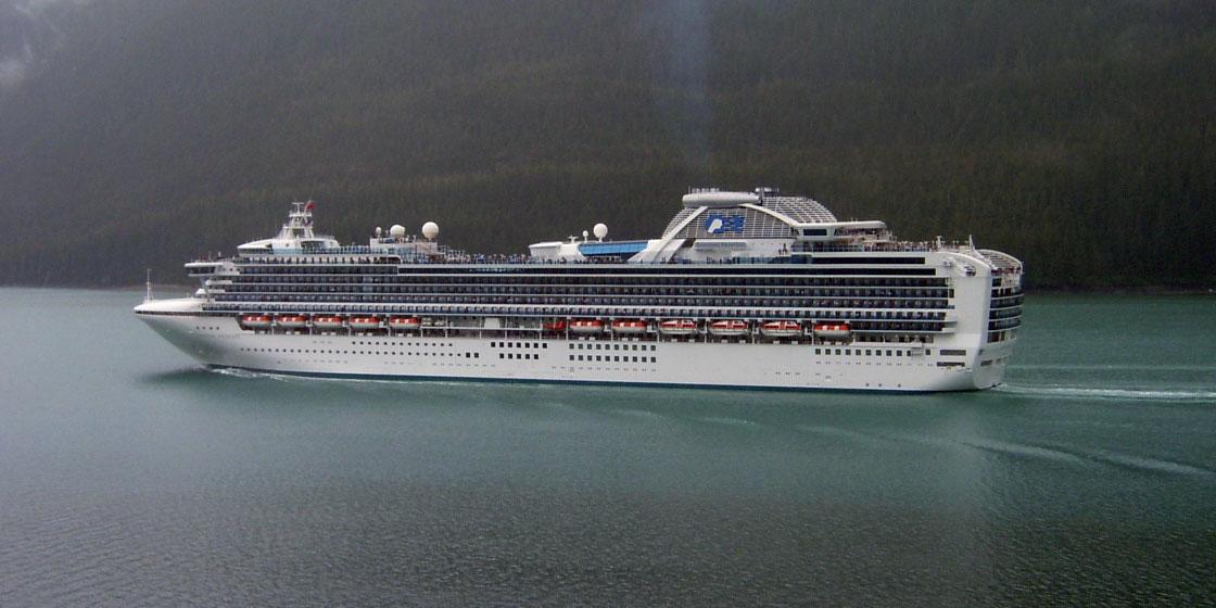 Diamond Princess Alaskan Cruise